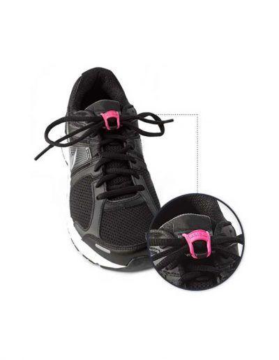 BRACKS - Clips/Locks to keep your laces tied - Black