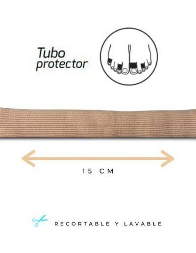 Protective tube for toes