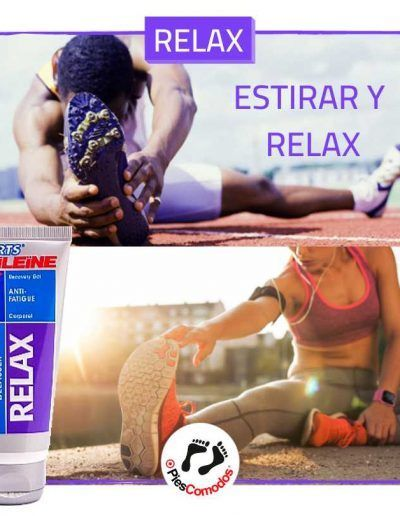 RELAX Gel anti fatiga