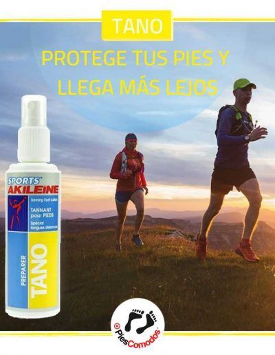 Tano lotion tanner to feet - Akileïne sport