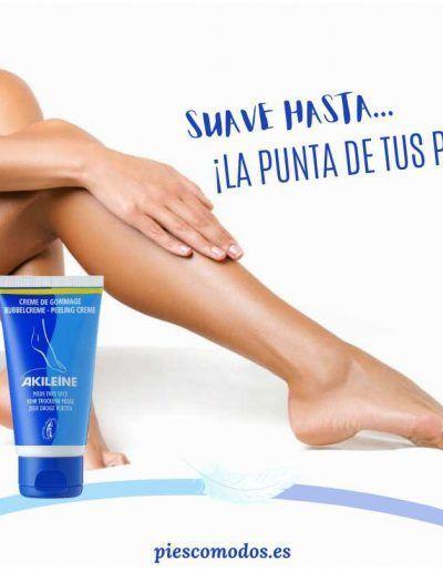Exfoliating cream anti-calluses for feet