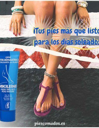 Regenerating cream for dry feet