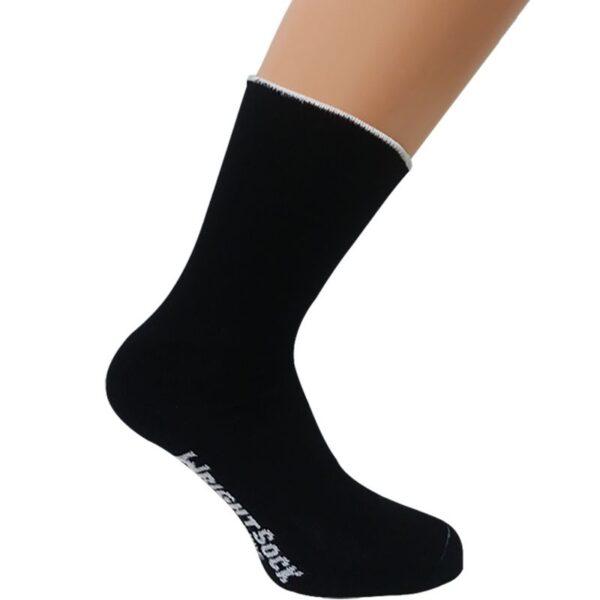 calcetín negro ultra wide