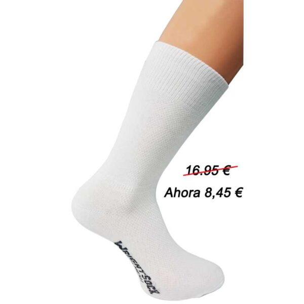 calcetin blanco