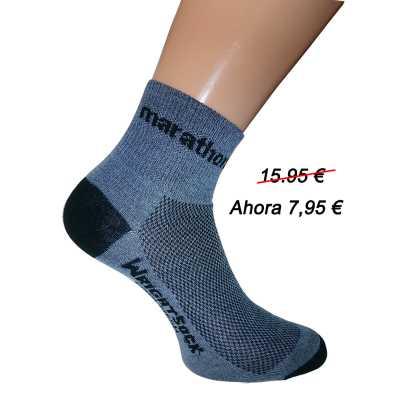 calcetin gris