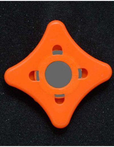 Imanes para dorsal - naranja